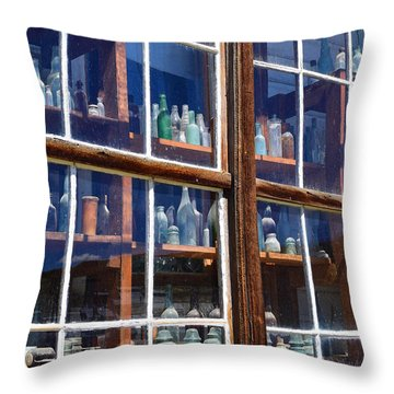 Bodie Bottles #2 Throw Pillow