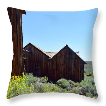 Bodie In Bloom Throw Pillow