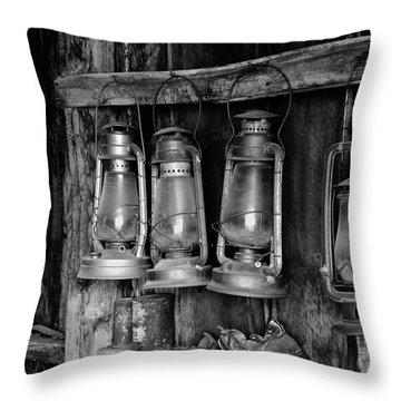 Bodie Lanterns Throw Pillow