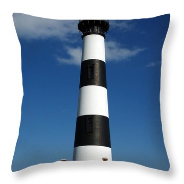 Bodie Lighthouse Throw Pillow by Kelvin Booker