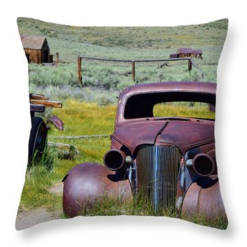 Bodie Rust Throw Pillow