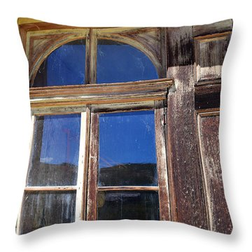 Bodie Woodwork Throw Pillow