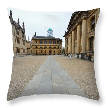 Bodleian Library Throw Pillow