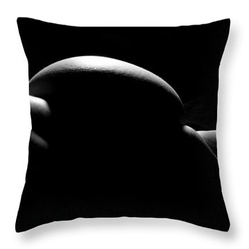 Throw Pillow featuring the photograph Body Abstract 1 by Joe Kozlowski