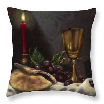 Communion Throw Pillows