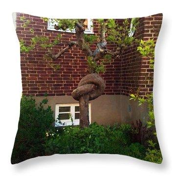 Body Language Of Trees Throw Pillow