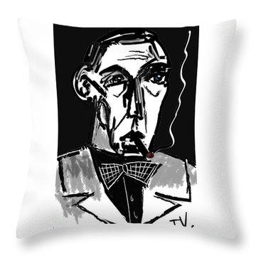 Bogart Throw Pillow