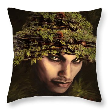Bogles Throw Pillow