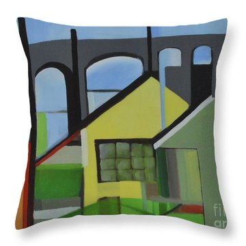 Bogota 80 Throw Pillow