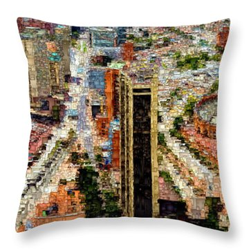 Bogota Colombia Throw Pillow