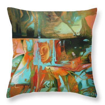 Bohemian Mix Throw Pillow