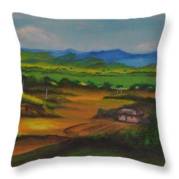Bohio Throw Pillow