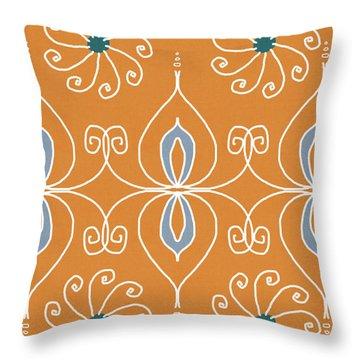 Boho Ornamental 1- Art By Linda Woods Throw Pillow
