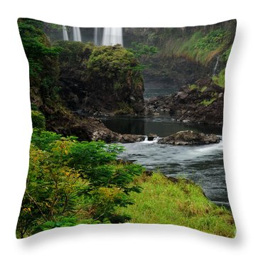 Boiling Pots Throw Pillow