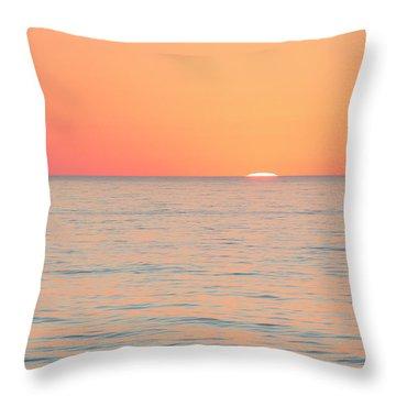 Boiling The Ocean Throw Pillow