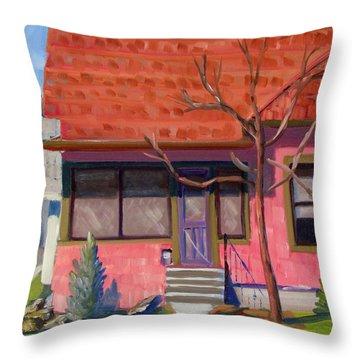 Boise Ridenbaugh St 02 Throw Pillow