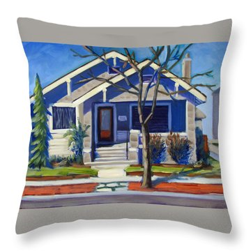 Boise Ridenbaugh St Throw Pillow
