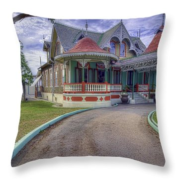 Boissiere House Throw Pillow