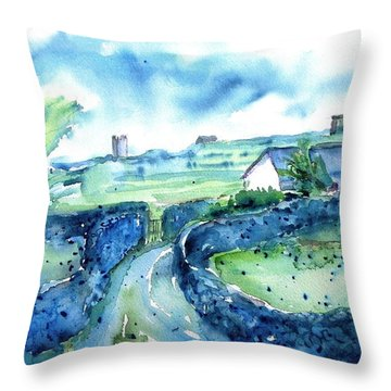 Boithrin Inisheer Throw Pillow