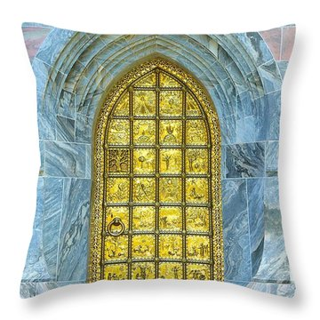 Bok Tower Entrance  Throw Pillow