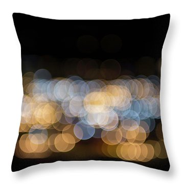 Throw Pillow featuring the photograph Bokeh  by Jingjits Photography