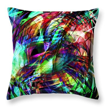 Bold Abster  Throw Pillow