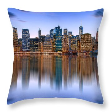 Bold And Beautiful Throw Pillow by Az Jackson