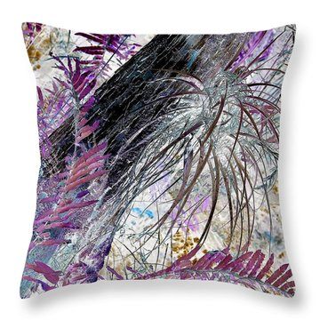 Bold And Beautiful Throw Pillow