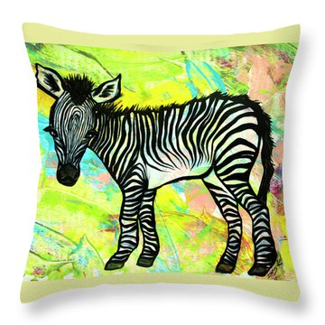 Bold And Bright Throw Pillow