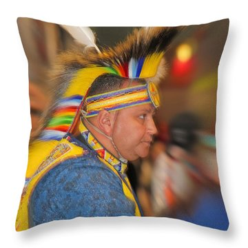 Bold And Proud Throw Pillow