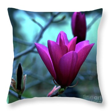 Bold Delicacy Throw Pillow by Patricia Griffin Brett