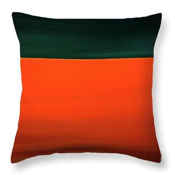 Bold Tanker Throw Pillow