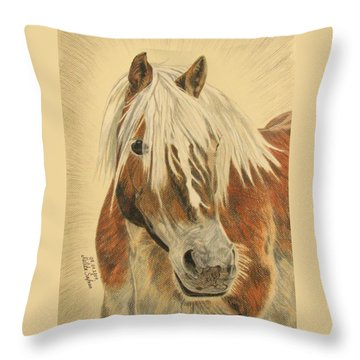 Bolero Throw Pillow by Melita Safran