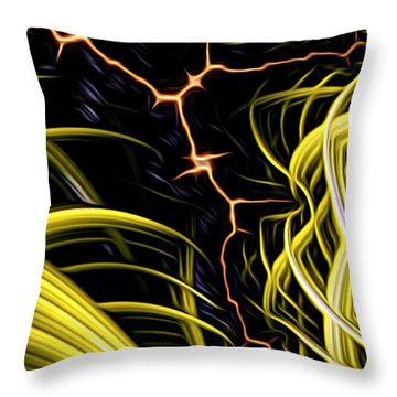 Bolt Through Throw Pillow