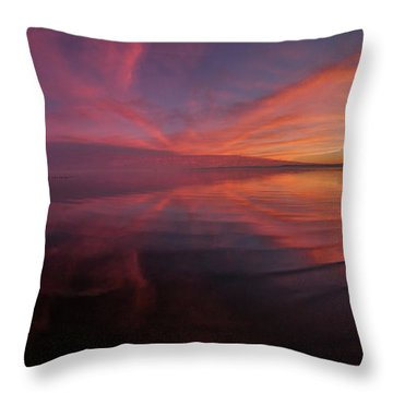Bombay Beach Throw Pillow