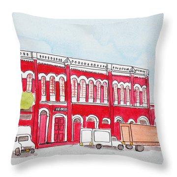 Bombay Samachar  Throw Pillow