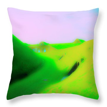 Bombproofs At Dover Throw Pillow