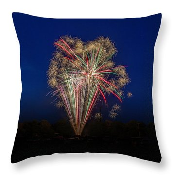 Bombs Bursting In Air II Throw Pillow