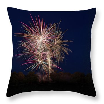 Bombs Bursting In Air IIi Throw Pillow