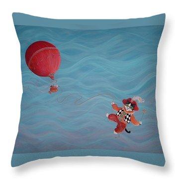 Bon Voyage Throw Pillow by Dee Davis
