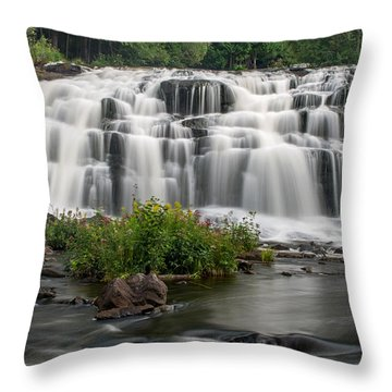 Bond Falls Throw Pillow