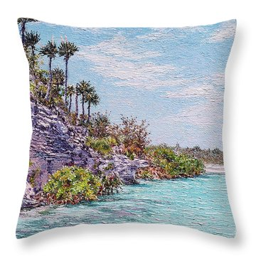 Bonefish Creek Throw Pillow