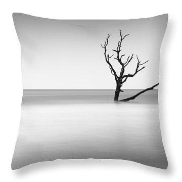 Boneyard Beach I Throw Pillow