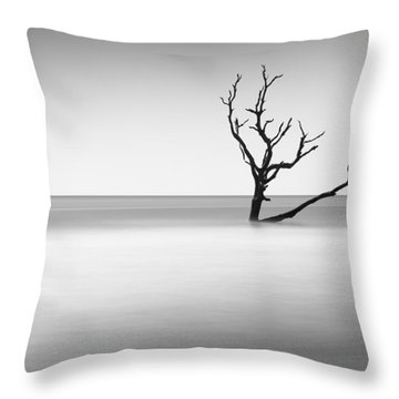 Boneyard Beach I Throw Pillow