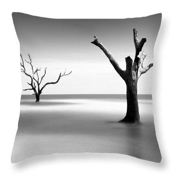 Boneyard Beach V Throw Pillow