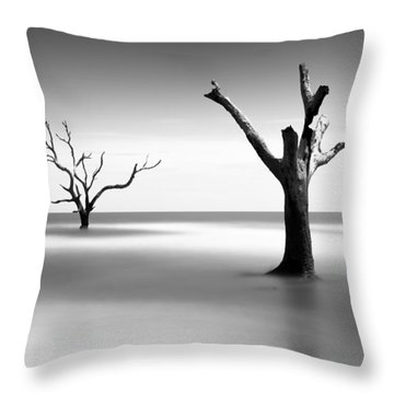 Boneyard Beach V Throw Pillow