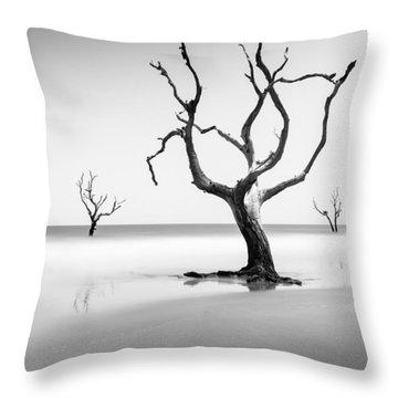 Boneyard Beach Xiii Throw Pillow
