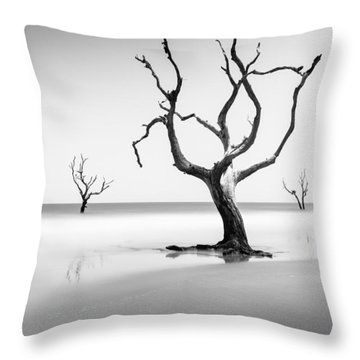Boneyard Beach Xiii Throw Pillow
