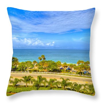 Bonita Beach Throw Pillow