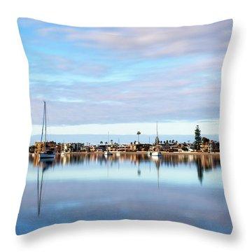 Bonita Cove #1 Throw Pillow